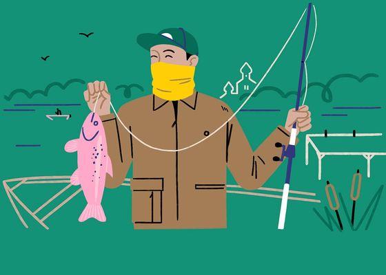 Банданы для рыбалки