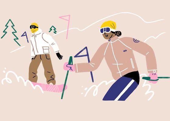 бандана сноуборд